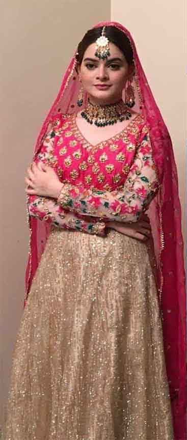 Mina Hassan latest Bridal collection
