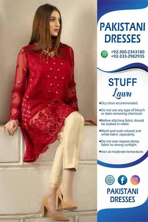 Agha Noor lawn dresses 2019