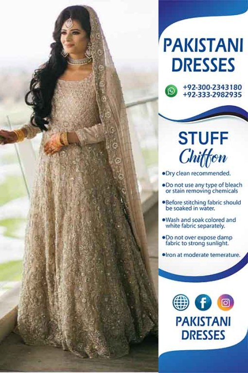 Pakistani bridaleid maxi collection
