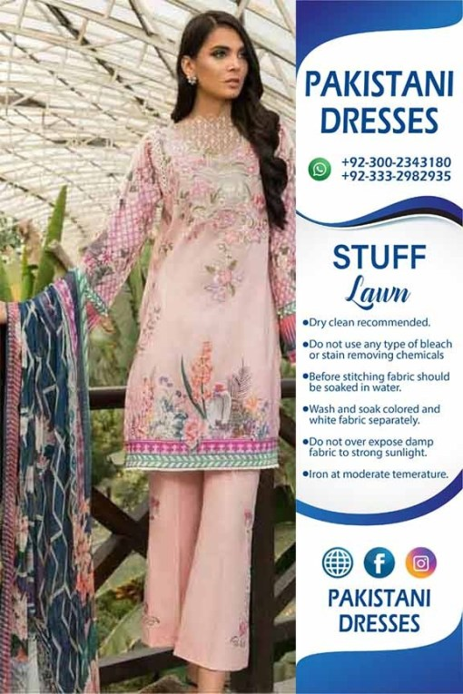 Pakistani lawn collection dresses