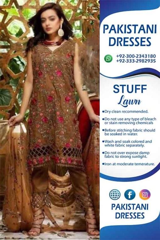 Pakistani Eid Al Adha Lawn Dresses