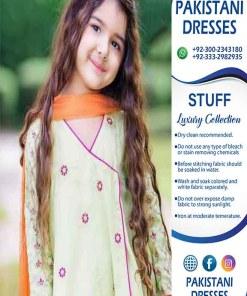 Pakistani Latest Kids Dresses