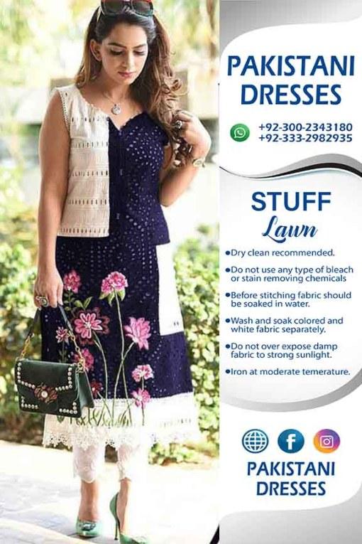 Bisma Khan Lawn Dresses Collection 2019