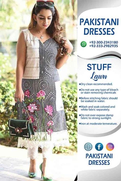 Bisma Khan Lawn Dresses Collection