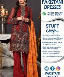 Maryams Chiffon Dresses 2019