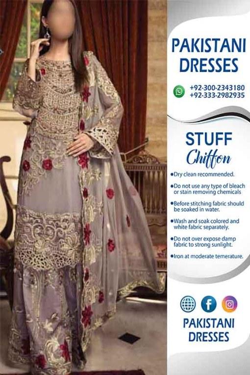 Zebtan Latest Chiffon Dresses 2019