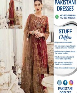 Iznik Latest Chiffon Clothes