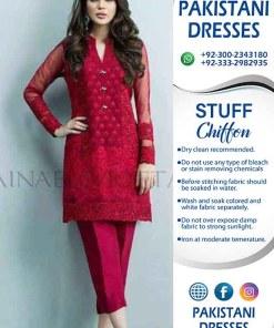 Zainab Chottani Chiffon Clothes