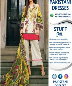 Honey Waqar Silk Clothes Online