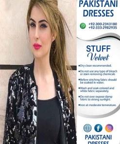 Italian Style Velvet Jacket 2020
