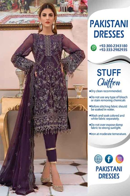 Serene Chiffon Collection Clothes