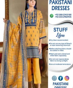 Khaadi Latest Linen Clothes