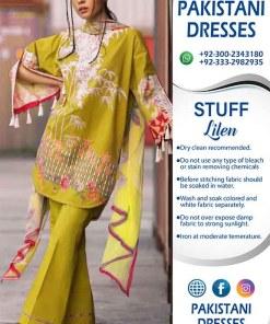 Sapphire Linen Dresses Online