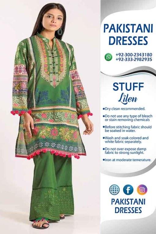 Khaadi Latest Linen Dresses 2020