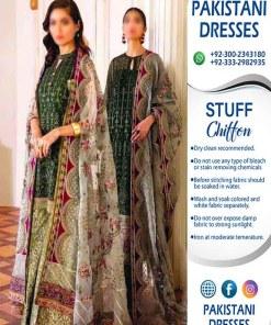 Baroque Chiffon Dresses Online