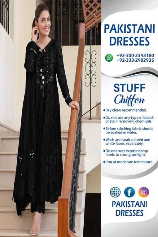 Pakistani Chiffon Dresses 2021
