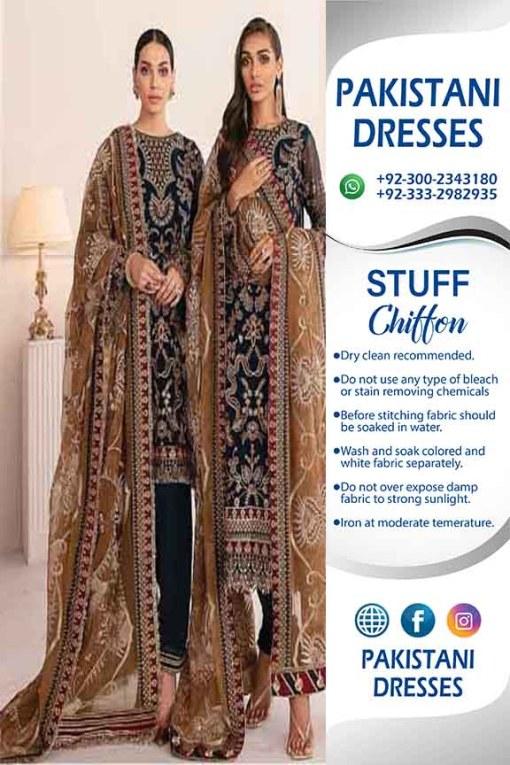 Baroque Clothes For Bakra Eid