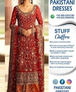 Annus Abrar Bridal Dresses Australia 2021