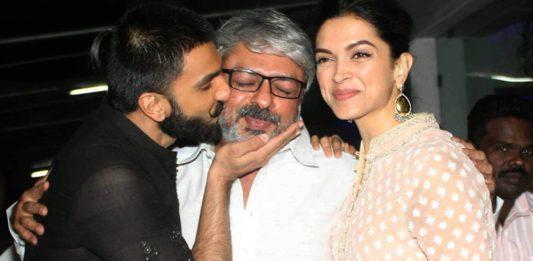 Deepika and Ranveer for Padmavati