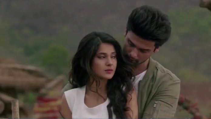 Jennifer Winget and Kushal