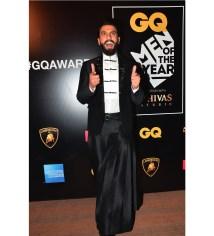 Ranveer Singh at GQ Awards 2016