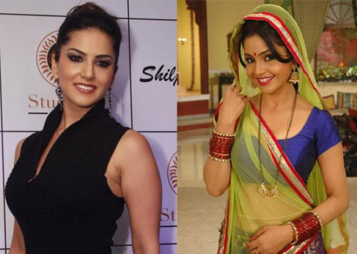 Sunny Leone Appears on TV