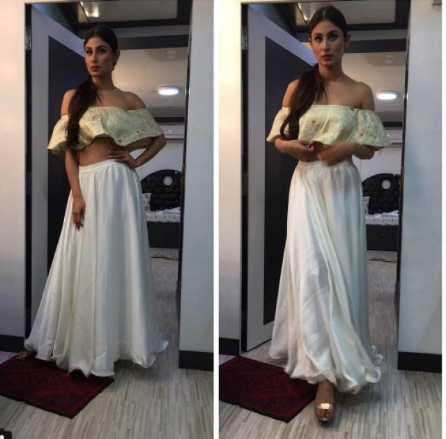 Mouni at Naagin 2 event