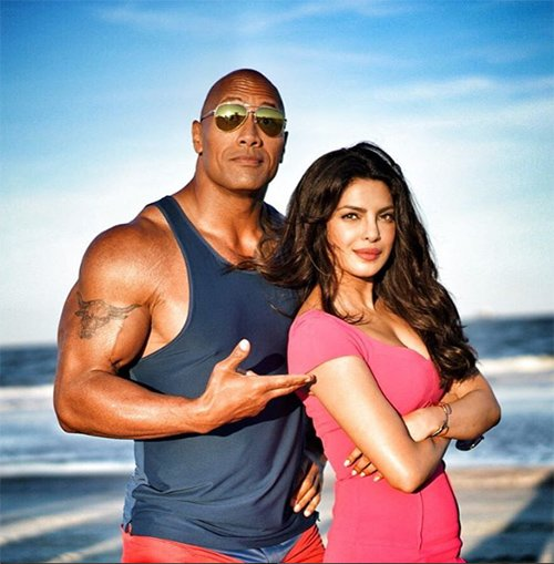 Priyanka and the Rock