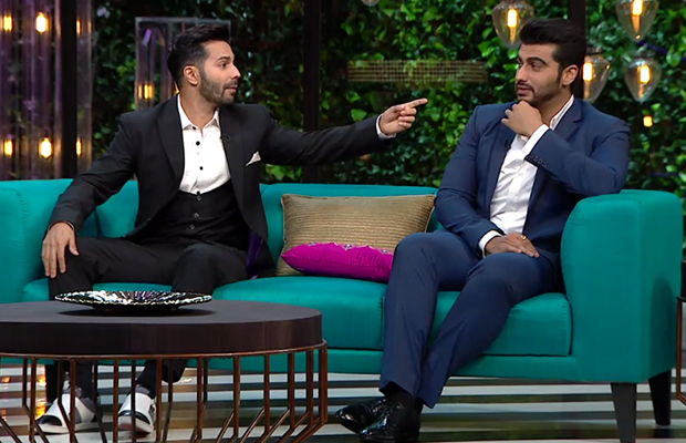Varun Dhawan and Arjun Kapoor