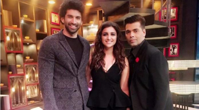 Parineet Chopra & Aditya Roy at Koffee with Karan