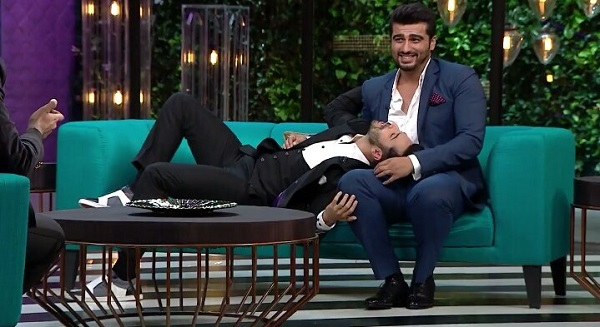Arjun Kapoor and Varun Dhawan