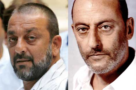 Sanjay Dutt and Jean Reno
