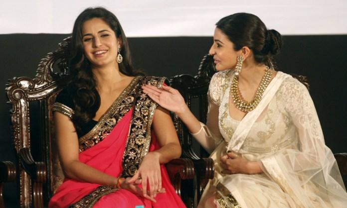 Katrina Kaif and Anushka Sharma at Koffee With Karan