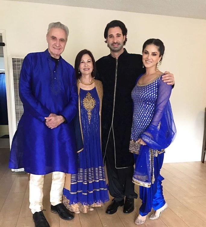 Sunny Leone's brother wedding