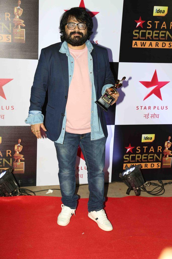 Pritam at star screen awards