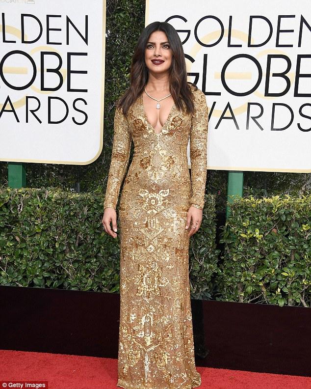 Priyanka Chopra Golden Globes