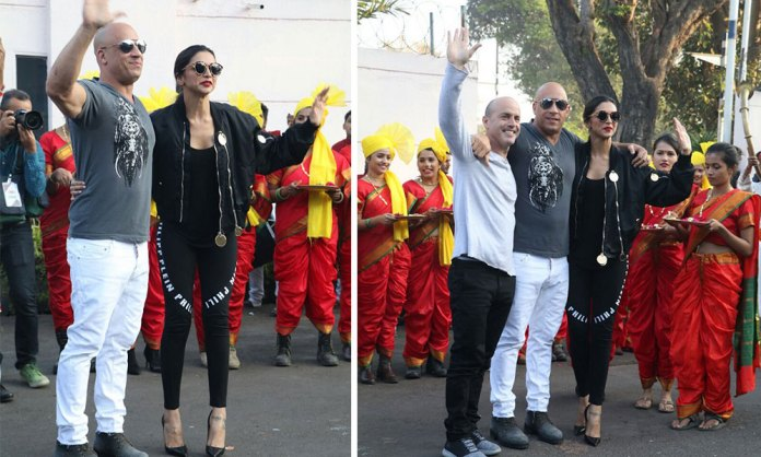 Vin Diesel and Deepika Padukone Lands In India For XXX Promotions