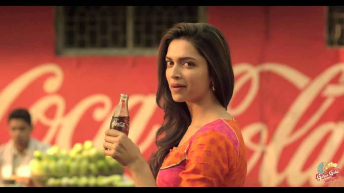 Deepika Podukone-Latest TVC Of Coca Cola
