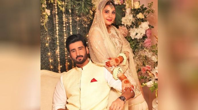 Hina Altaf, Agha Ali married in a simple Nikkah Ceremony on Friday