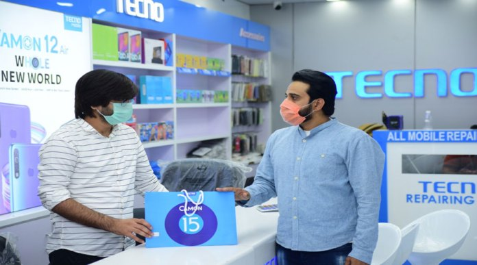 TECNO Donation Ceremony to Help the Country Resume Work in COVID-19