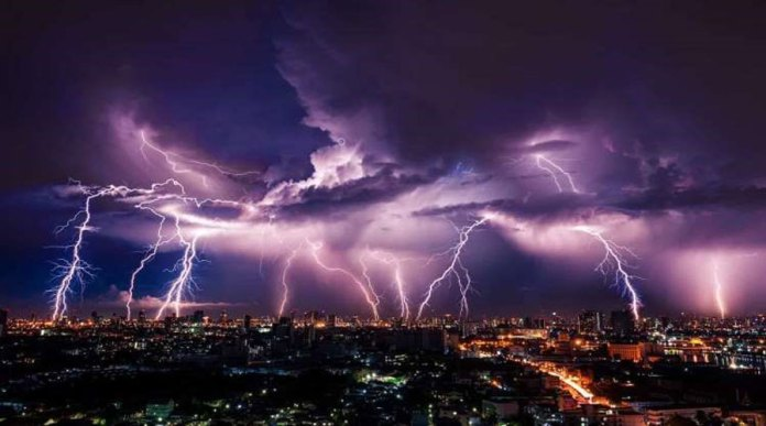 Rain with Thunderstorm Forecasted for the next 6 days across Pakistan