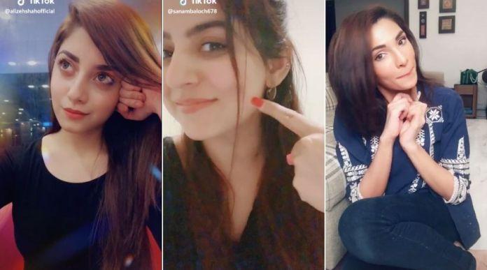 Top Pakistani Actresses on TikTok - Must Watch Videos