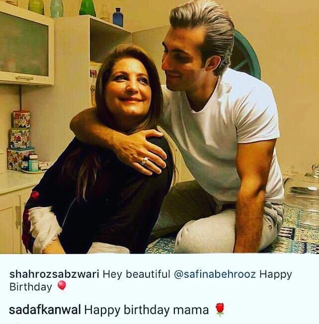 sadafkanwal safina behrooz picture comment