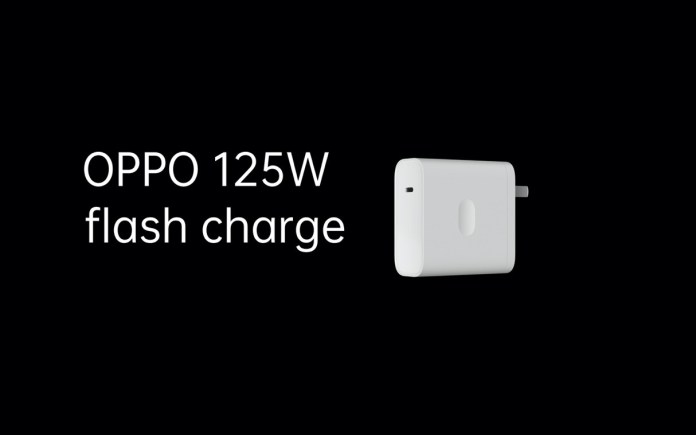125W flash charge faster charging in the 5G era