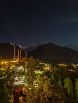 A night in Hunza, Beautiful Photography