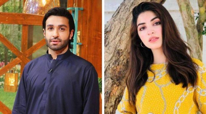 Kinza Hashmi and Azfar Rehman