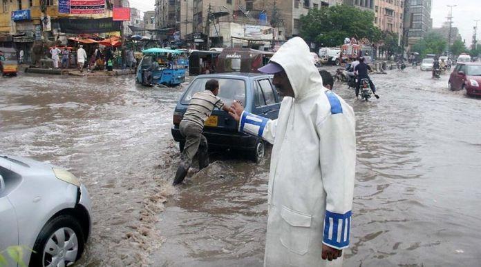 Karachi to be hit with Heavy Rainfall starting Monday