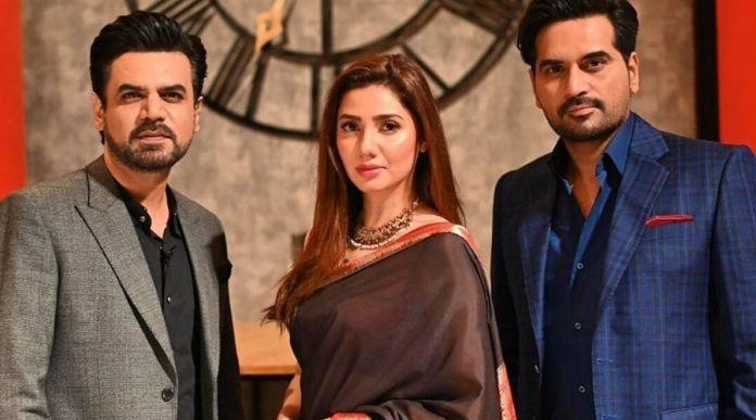 Mahira Khan, Humayun Saeed to appear in talk show Ghabrana Nai Hai