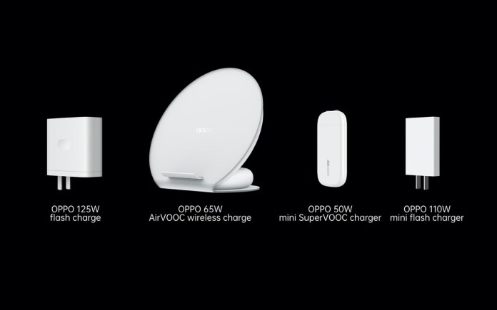 OPPO launches flash charge, AirVOOC wireless flash charge and mini SuperVOOC charger