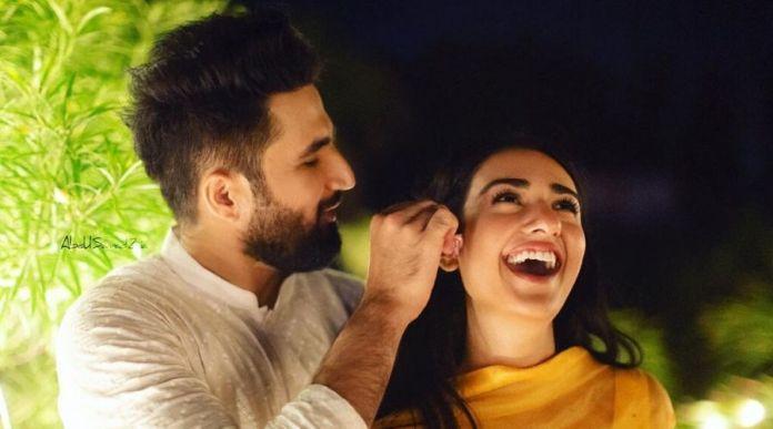 Falak and Sarah bursting with laughter 2